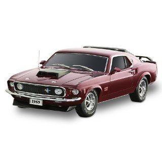 1969 Mustang BOSS 429 Sculpture Car A Tribute To An American Legend by The Bradford Exchange   Ford Mustang Boss Scale