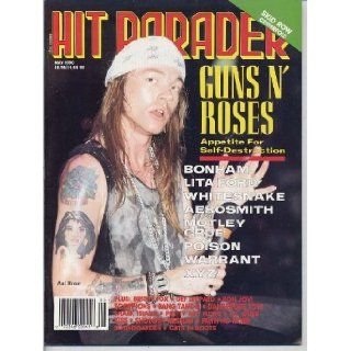 Hit Parader Magazine GUNS N' ROSES Pretty Boy Floyd SEBASTIAN BACH CENTERFOLD Kiss POISON Lita Ford SKID ROW May 1990 C (Hit Parader Magazine): Andy Secher, Collector Magazines: Books