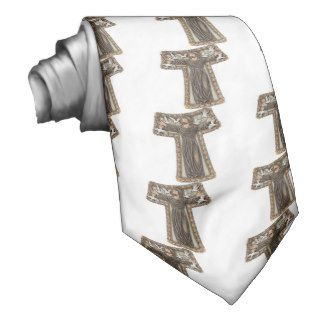 St. Francis in Tau Cross Tie