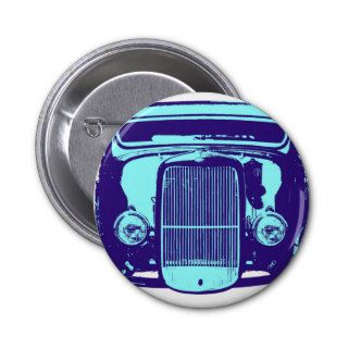 Cool Blue Hot Rod Pin