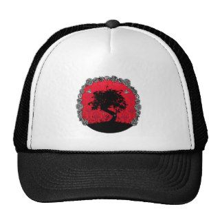 Tattoo Rose Bonsai Tree of Love Swallow Hats