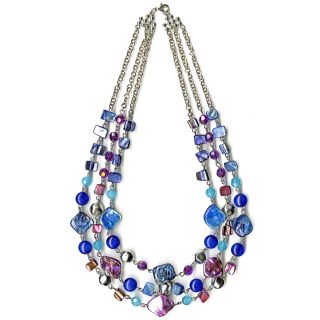 Jaclyn Smith Womens Shell Bib Necklace   Jewelry   Fashion Jewelry   Necklaces & Pendants