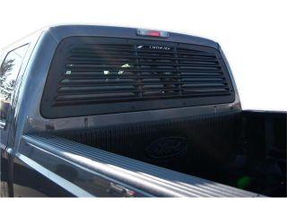 Mach Speed 32002 Ford F250   F350   F450   F550   F650 ABS Rear Window Louver   2008 2012