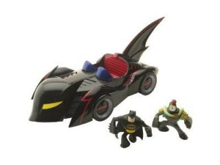 Batman: The Brave and The Bold Action League Mini Batmobile Diorama Set