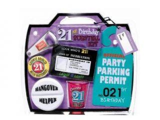 21st Birthday Survival Kit
