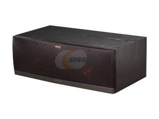 Klipsch Reference RC 62 II B Center Speaker, Black Ash Wood Grain Vinyl Single