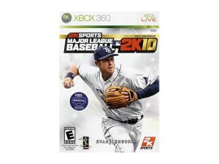 Major League Baseball 2k10 Xbox 360 Game 2K Games