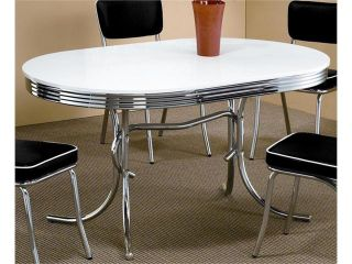 50's Soda Fountain Table by Coaster Furniture