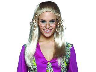 Brady Bunch Tv Show Long Blonde Adult Female Costume Wig   Jan