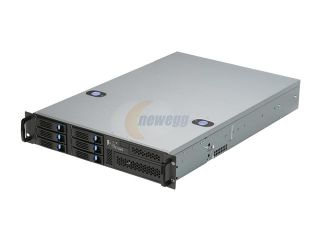 Chenbro Case RM21706T 2U DP with 6 x Hotswap HDDs, SAS/SATA BP, Ideal for General Purpose Server