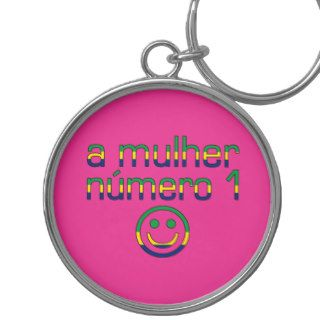 A Mulher Número 1   Number 1 Wife in Brazilian Keychain