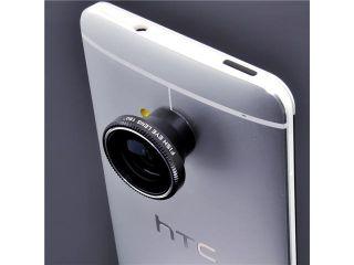 180° Mobile Fish Eye Fisheye Lens for HTC One M7 Sansung Galaxy Note 1 2 II N7100