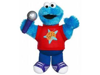 Playskool Sesame Street Lets Rock Singing Cookie Monster Plush Stuffed Animal