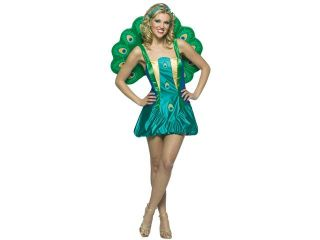 Adult Sexy Peacock Costume   Animal Costumes
