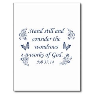 Inspirational Christian quotes Post Card