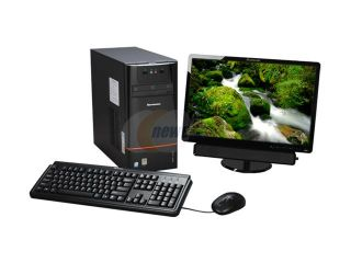 "Lenovo 3000 H Series H200 H1011/M19 (57091128) Desktop PC Intel Atom 230 (1.6GHz) 1GB DDR2 160GB HDD Capacity 19"" Windows Vista Home Basic"