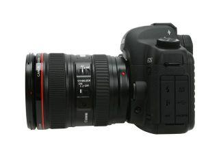Canon EOS 5D Mark II Black 21.1 MP Digital SLR Camera w/EF 24 105mm f/4L IS USM Lens