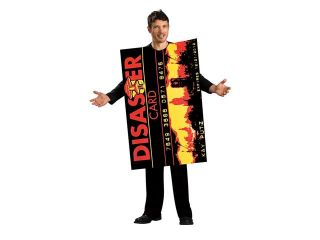 Bad Credit Card Tunic Funny Novelty Costume Adult Standard
