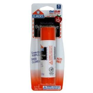... Elmers School Glue Stick, Washable, 0.77 oz (22 g) ...