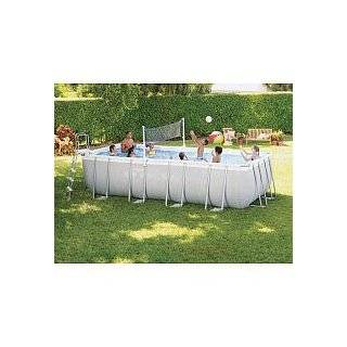 Intex Ultra Frame 18 by 9 Foot by 52 Inch Rectangular Pool Set Intex