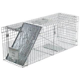 One Door Live Animal Cage Trap for Raccoon, Stray Cat, Groundhog