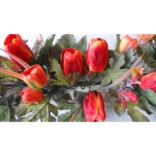 36 Artificial Tulip Flower Swag