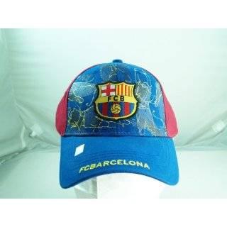 FC BARCELONA FOOTBALL CLUB OFFICIAL LOGO SOCCER HAT CAP