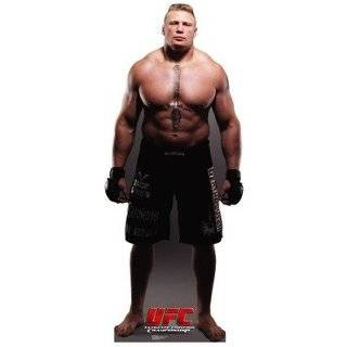 UFC Brock Lesnar Cardboard Stand