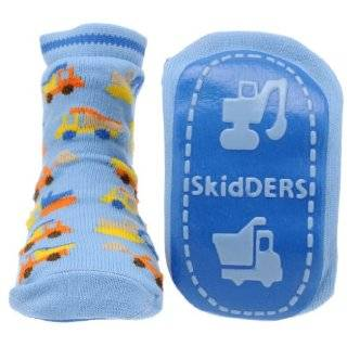 Fire Trucks Skidders Baby Gripper Socks Clothing