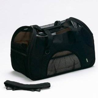 Bergan Comfort Carrier Soft Sided Pet Carrier, Large, Black