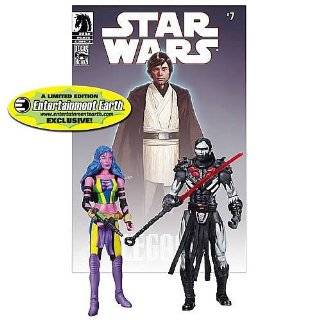 Comic Book Action Figure 2Pack Dark Horse Deliah Blue Darth Nihl